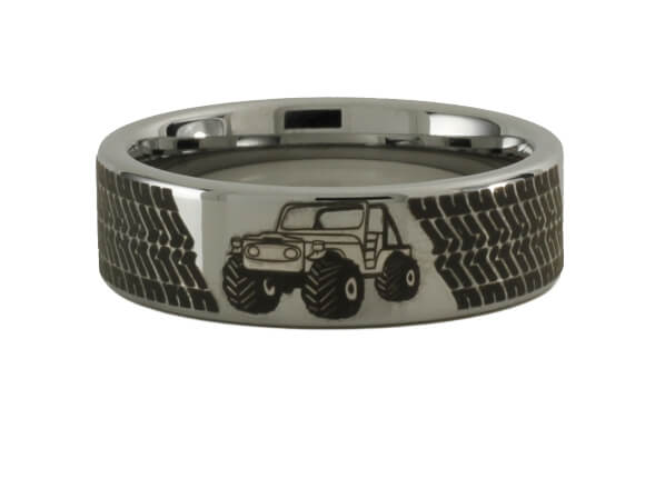 Off Road Tungsten Ring