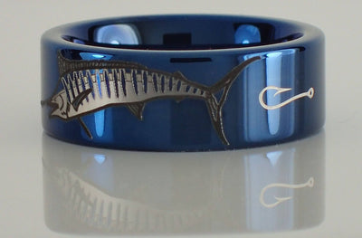 Tungsten Marlin Ring