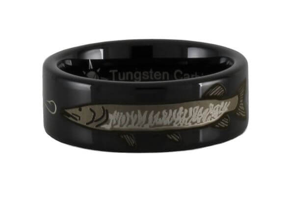 Musky Fishing Tungsten Ring
