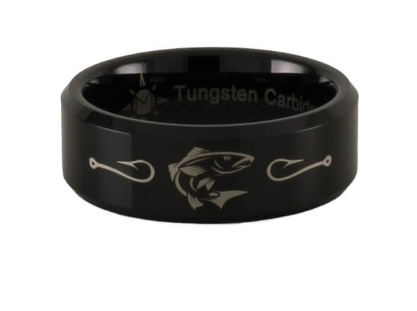 Tungsten Redfish Ring
