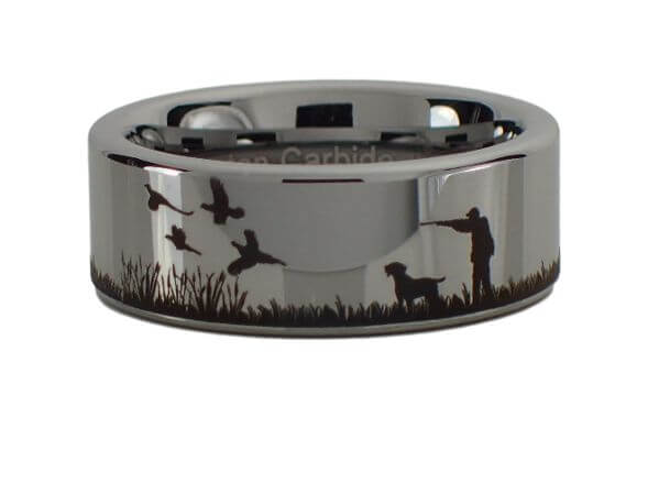 Pheasant Hunting Scene Ring