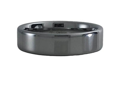 Tungsten Pipe Style ring