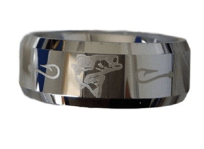 Rings - Tungsten Carbide Fishing Ring
