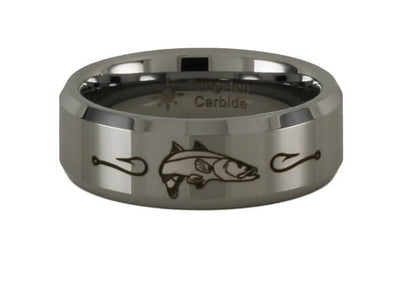 Tungsten Carbide Snook Ring