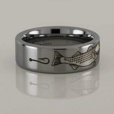 Tungsten Striped Bass Ring