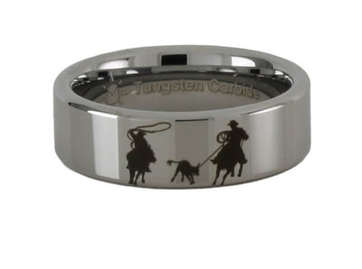 Tungsten Team Roping Ring