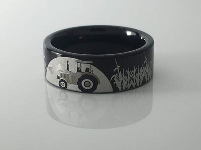 Tungsten Tractor Farming Ring