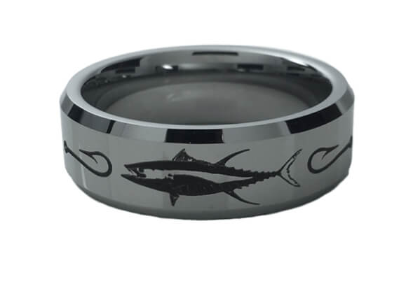 Tungsten Tuna Ring