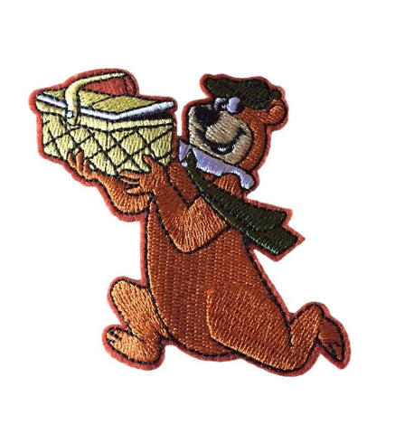 Yogi Bear Looney Tunes Cartoon Novelty Embroidered Iron On Costume Patch