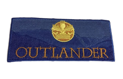 Outlander TV Show Blue Logo Iron on Cosplay Biker Patch