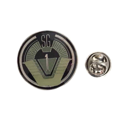 Stargate SG1 Group 1 Cosplay Metal Lapel Pin With Enamel Finish