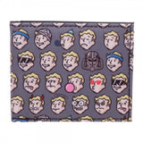 Fallout Vault Boy Emojis All Over Print Bi Fold Wallet Bethesda