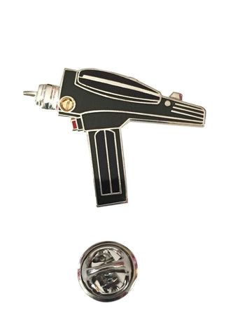 Star Trek Original Classic Series Hand Phaser Enamel Metal Cloisonne Pin