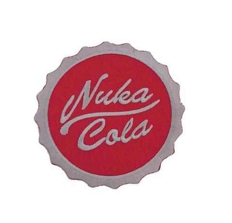Fallout 4 Nuka Cola Bottle Cap Logo Red Iron On Patch