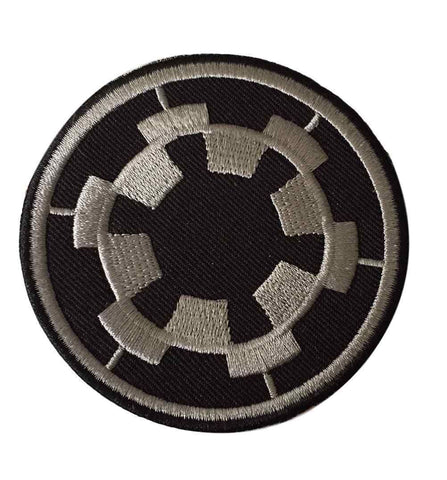Star Wars Imperial Empire Symbol Black Costume Iron On Patch