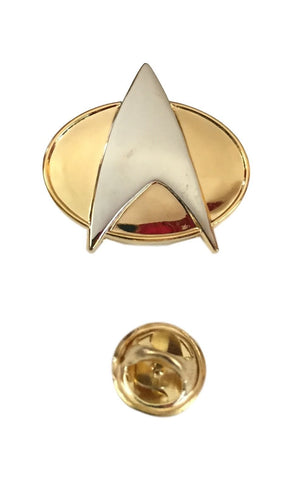 Star Trek The Next Generation Communicator Half Size Metal Pin Uniform Pin