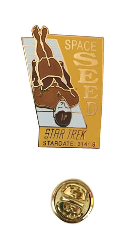 Star Trek Original Classic Series SPACE SEED Episode Enamel Metal Cloisonne Pin