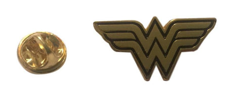 DC Comics Wonder Woman Logo Metal Cosplay Lapel Pin