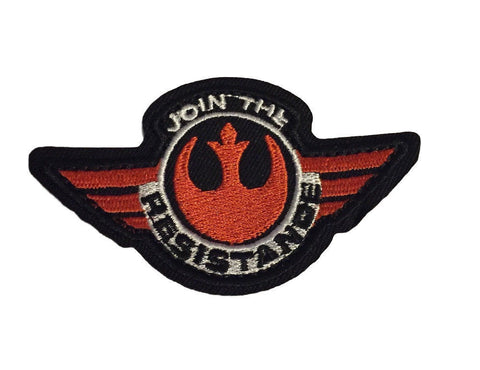 Star Wars Rebel Alliance Join The Resistance 3 Inch Wide Iron On Patch