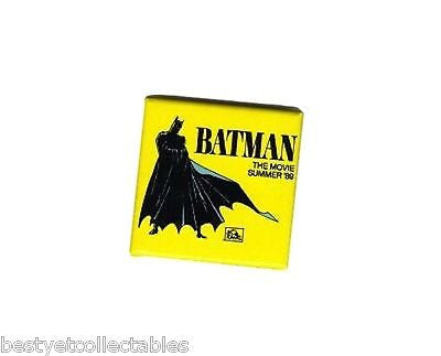 BATMAN THE MOVIE 1989 PROMOTIONAL MOVIE BUTTON RARE!