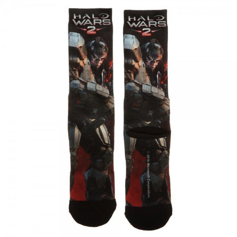 Halo Wars 2 All Over Print Sublimated Adult Novelty Crew Socks