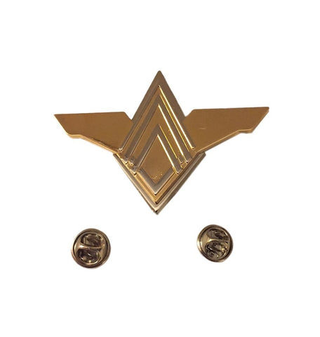 Battlestar Galactica Senior Officers Wing Full Size Deluxe Metal Pin