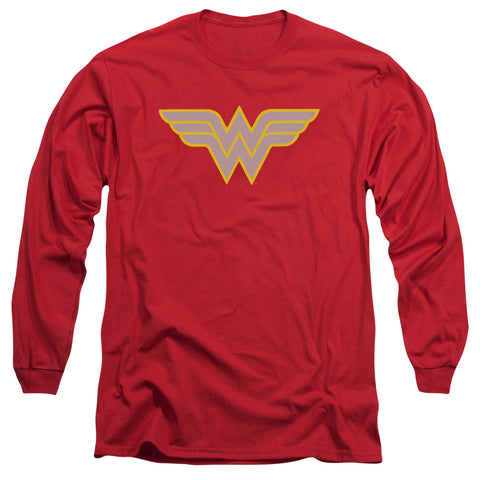 Dc - Ww Logo Long Sleeve Adult 18/1