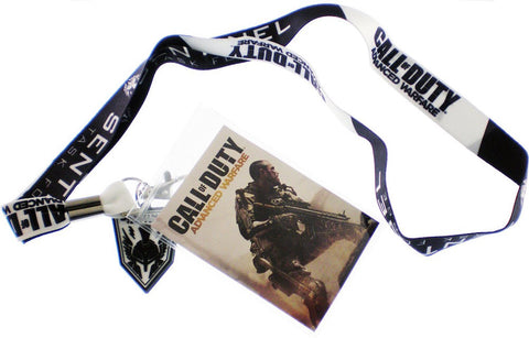 Call of Duty Advanced Warfare Sentinel Lanyard ID Badge Holder NWT