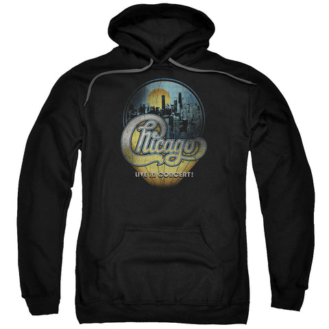 Chicago - Live Adult Pull Over Hoodie