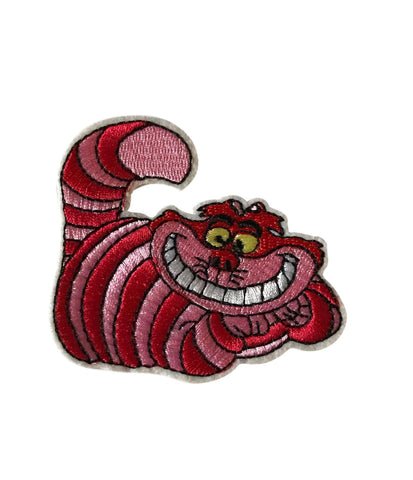 Cheshire Cat Cartoon Character Cosplay Patch