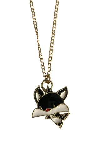 Sylvester Baby Face Pendant Chain Necklace