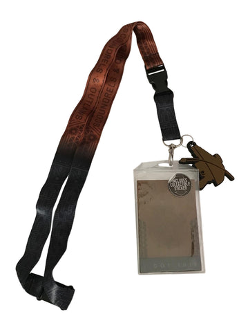 Star Wars Solo Millennium Falcon Lanyard ID Holder With Charm, Key Fob & Sticker