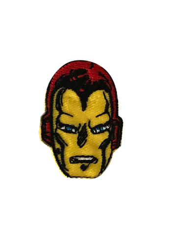 Iron Man Face Mask Iron On Patch