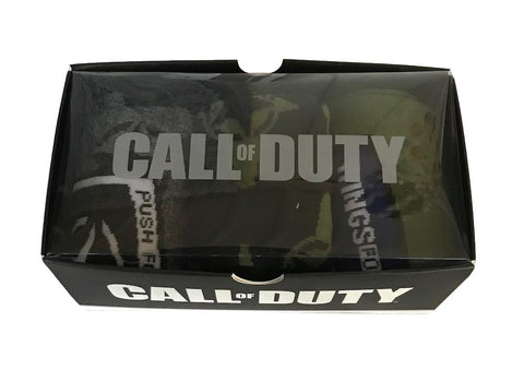 Call of Duty 3 Pack Crew Socks Set Adult Size New in Box