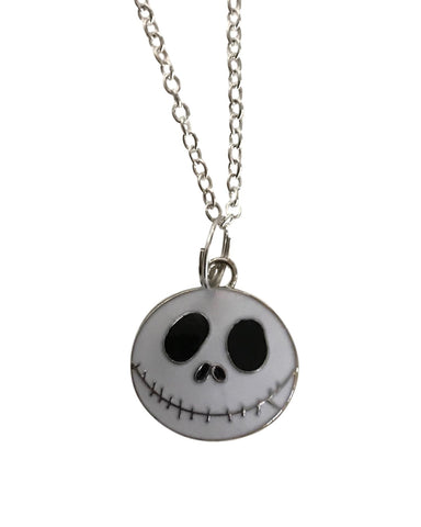 Nightmare Before Christmas Jack Skellington Pendant Chain Necklace