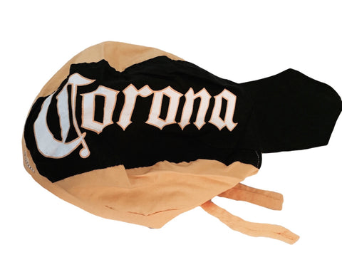 Corona Extra Logo Cotton Print Du Rag Head Wrap Bandana Beer Hat