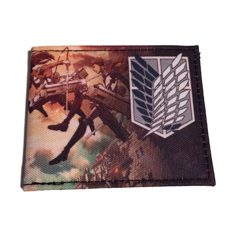 Attack On Titan QT Bi Fold Wallet