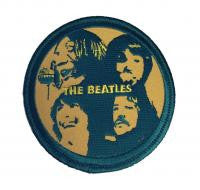 The Beatles Let It Be Embroidered Logo Round Iron On Patch New Licensed!