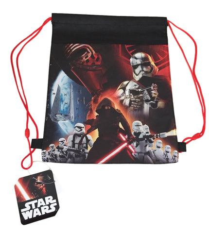 Star Wars 7 Action Woven Cinch Bag Slingback Back Pack