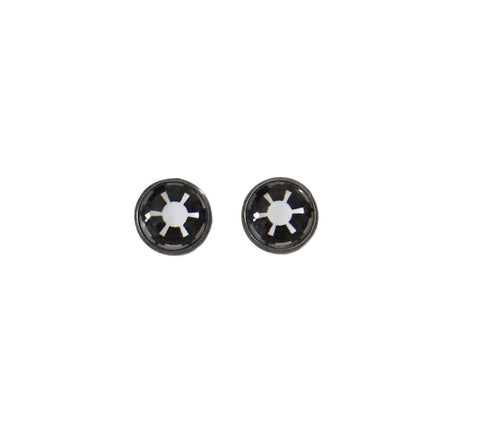 Galactic Empire Star Wars Logo Dome Stud Earrings Set
