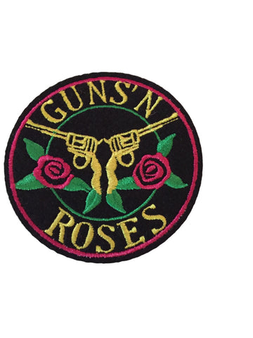 Guns N Roses GNR Embroidered Iron On Patch