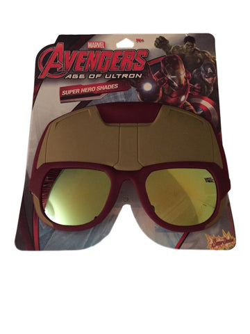 Marvel's Iron Man Large Shades Sun Stashes Costume Mask Sun Glasses Shark Tank