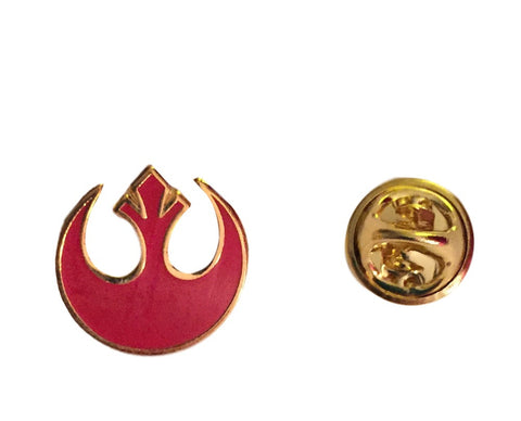 Star Wars Rebel Alliance Red Logo Symbol Small Cloisonne Metal Pin