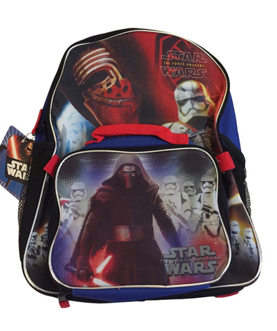 Star Wars Movie Full Size Backpack With Removable Lunch Kit Disney