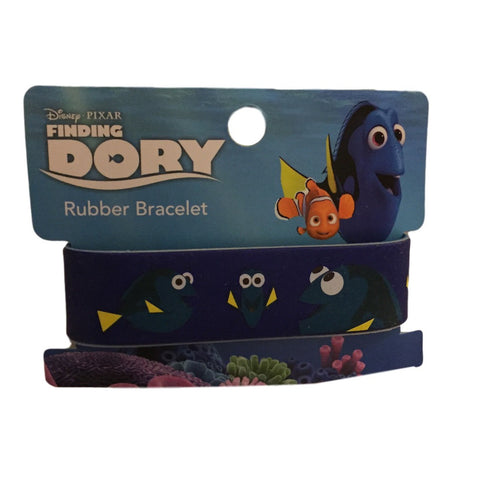 Disney Finding Dory Thick PVC Wristband Rubber Bracelet