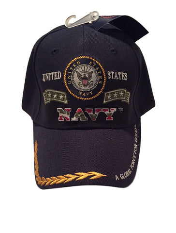 United States Navy Seal Logos Stars Global Force For Good Baseball Cap Hat