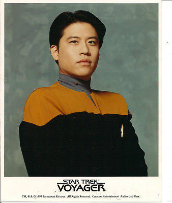HARRY KIM GARRETT WANG  STAR TREK  VOYAGER PROMO PHOTO
