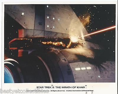 Star Trek II Wrath Of Khan USS Enterprise Battle Damage 8x10 Photo