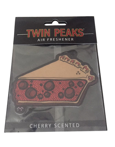 Twin Peaks Cherry Pie Car Truck Office Air Freshener - Cherry Scent