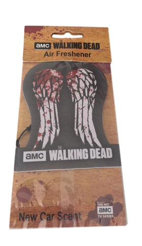 Walking Dead Wings Car Truck Office Air Freshener - New Car Scent